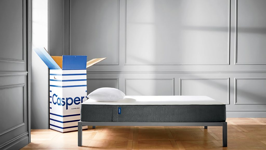 Casper King Mattress On Ikea Hemnes