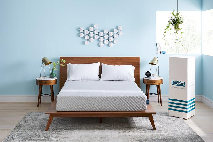 Leesa Mattress On Adjustable Frame