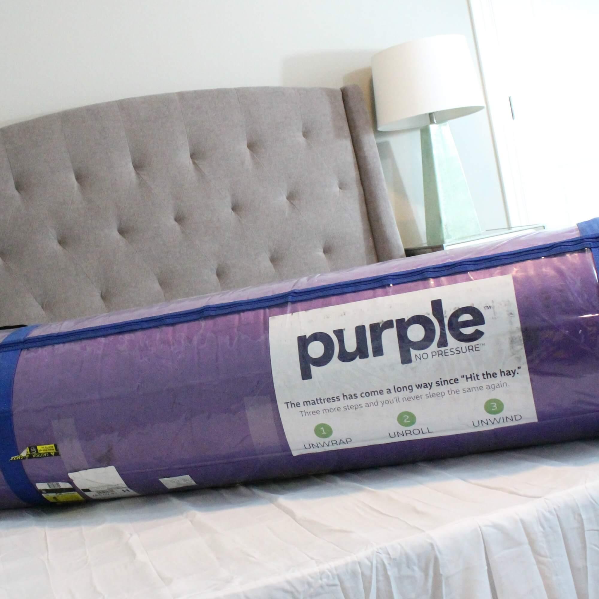 Actress In Purple Mattress Commercial Queensize Mattress